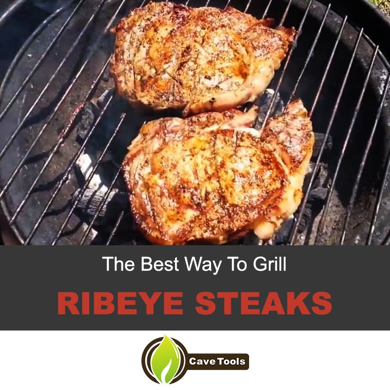 how to grill a ribeye