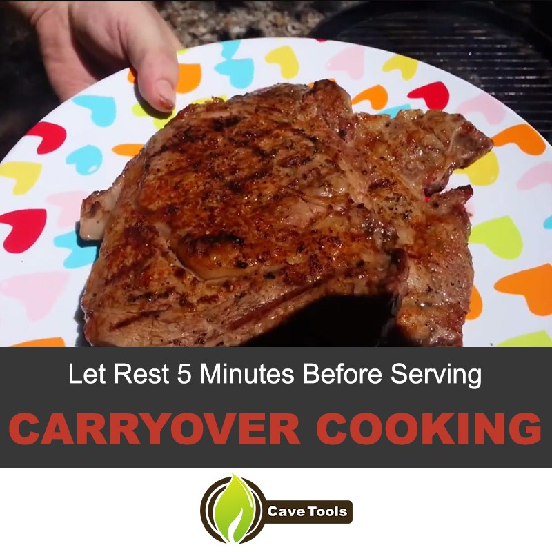 carryover cooking
