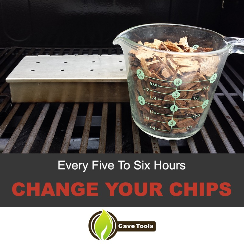 Every Five to Six Hours Change Your Chips