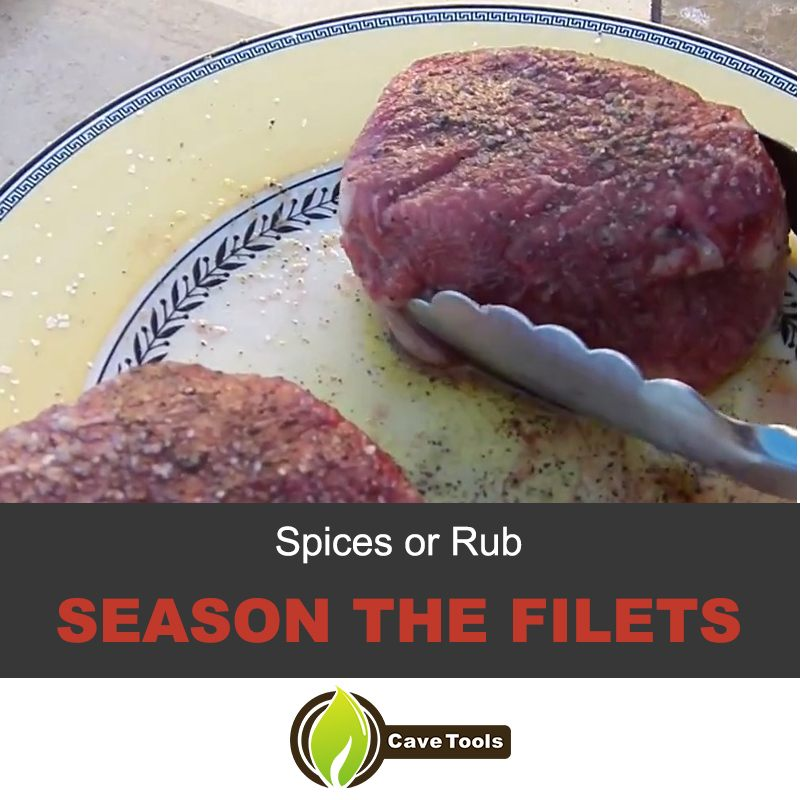 Spices Or Rub Season The Filets