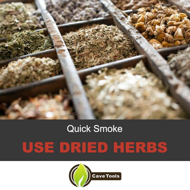 quick-smoke-use-dried-herbs