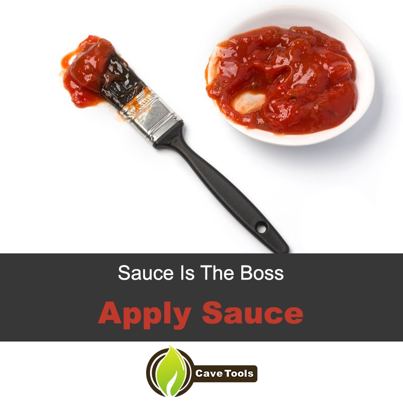 Sauce Is The Boss Apply Sauce