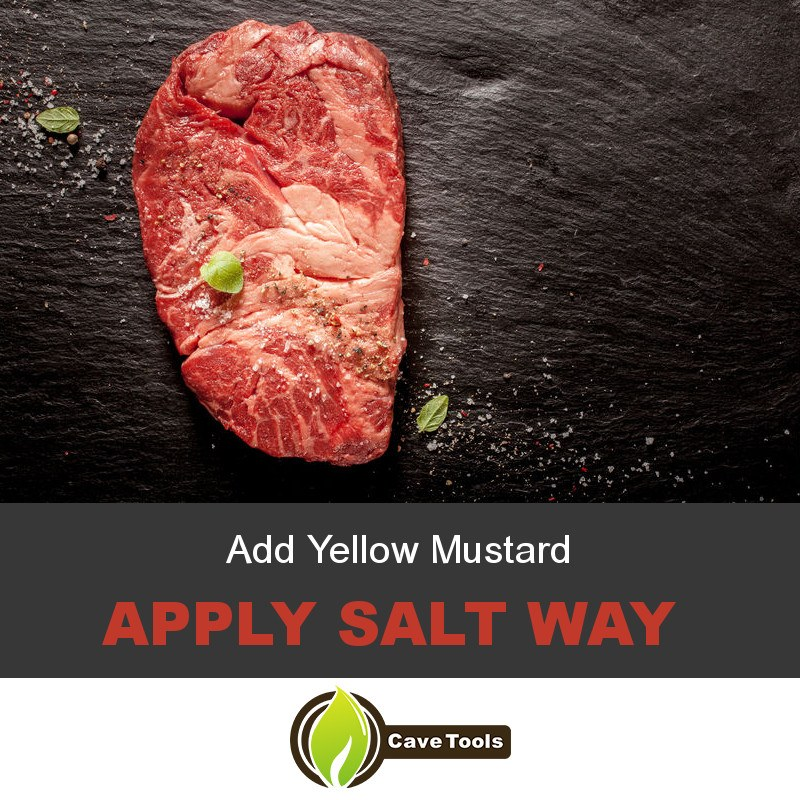 Add Yellow Mustard Apply Salt Way