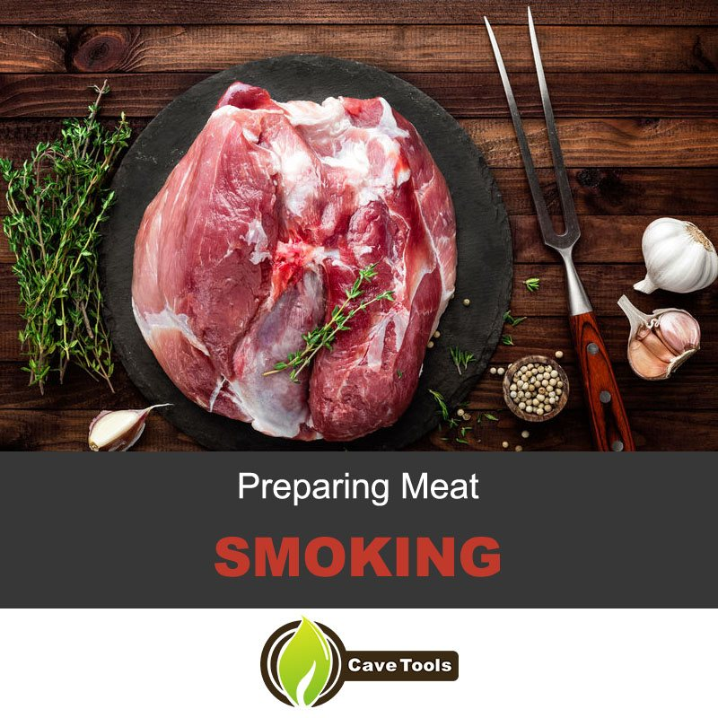 Preparing meat smoking