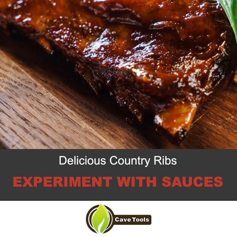 Delicious Country Ribs Experiment With Sauces
