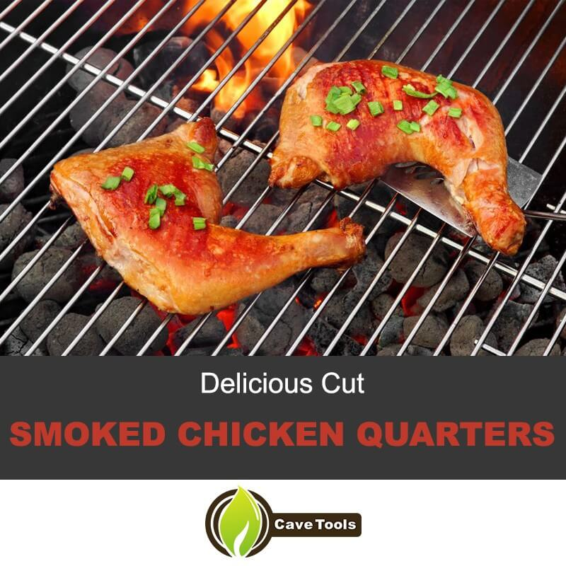 Delicious Cut Smoked Chicken Quarters