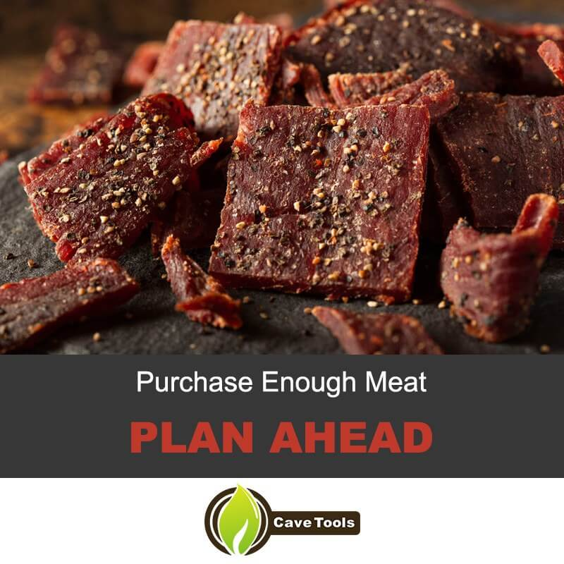 Purchase Enough Meat Plan Ahead