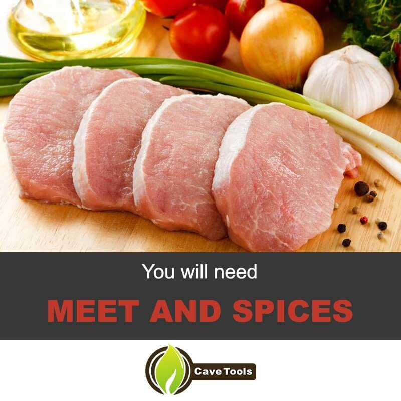 You will Need Meet And Spices