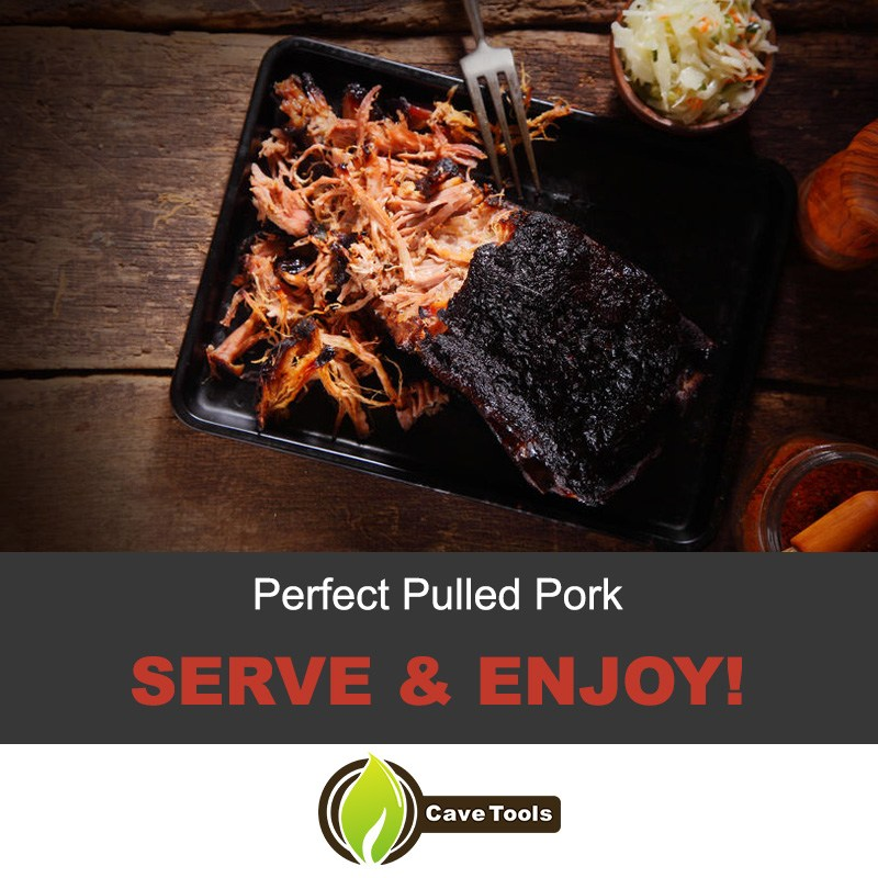 Perfect Pulled Pork Serve & Enjoy