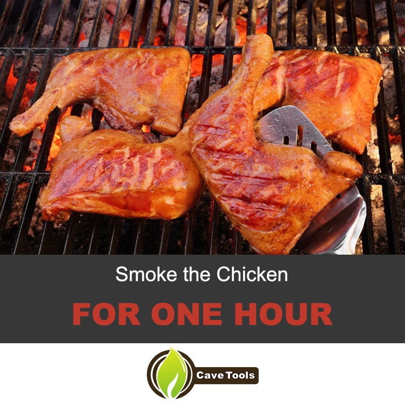 Smoke The Chicken For One Hour
