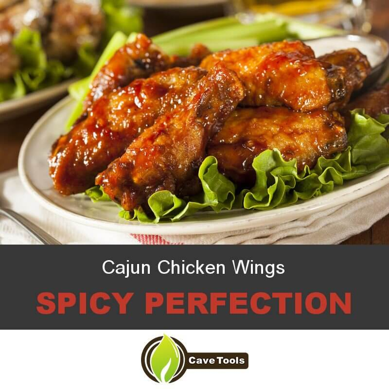 Cajun Chicken Wings Spicy perfection