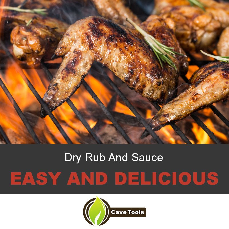 Dry Rub And Sauce Easy And Delicious