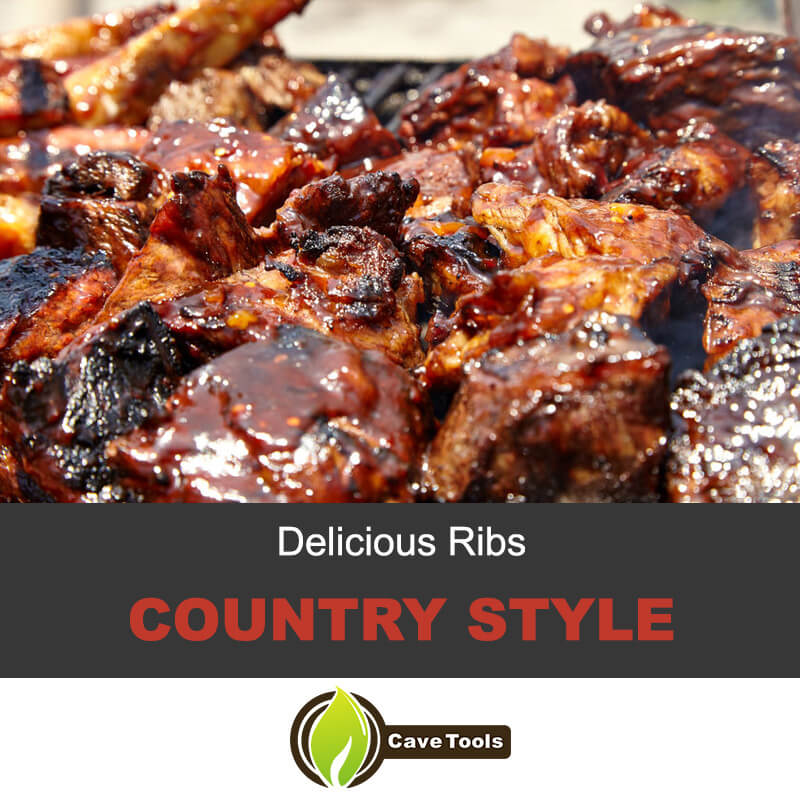 Delicious Ribs Country Style