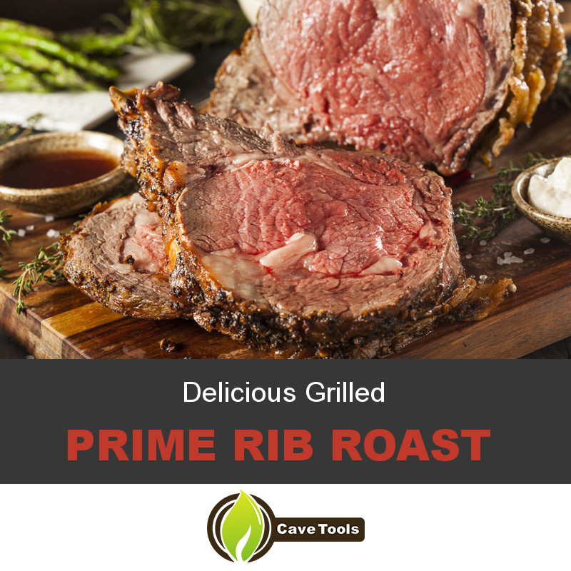 Delicious Grilled Prime Rib Roast