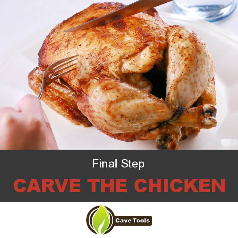 Final Step Carve The Chicken