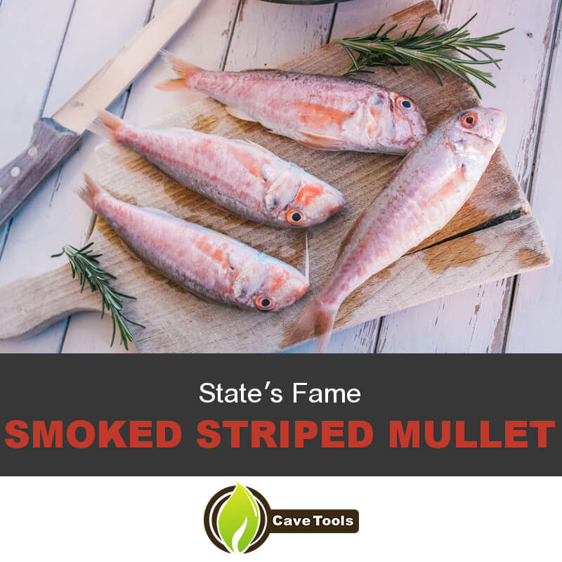 State's Fame Smoked Striped Mullet