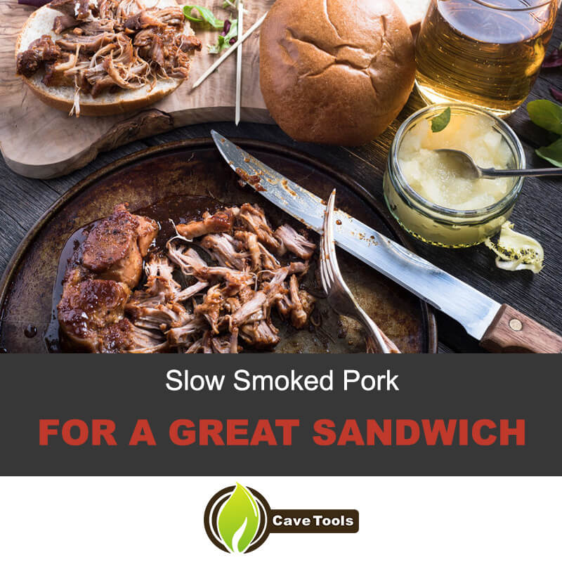 Slow Smoked Pork For A Great Sandwich