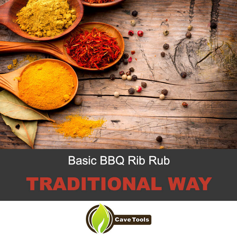 Basic BBQ Rib Rub Traditional Way