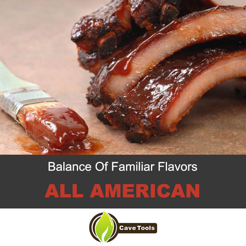 Balance of Familiar Flavors All American
