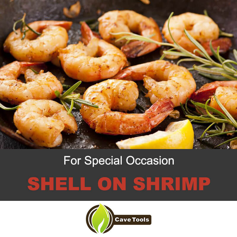 Special Occasion Shell on Shrimp