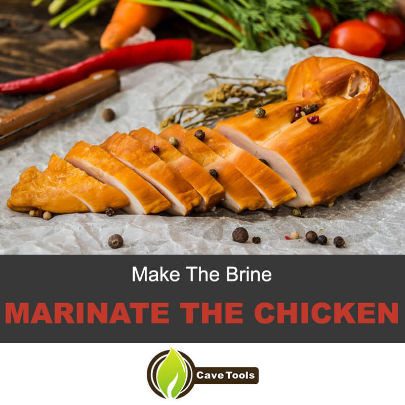 Make The Brine Marinate The Chicken