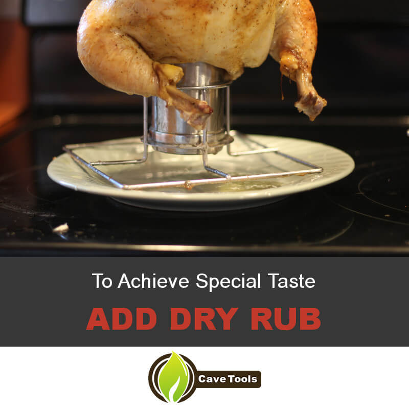 To Achieve Special Taste Add Dry Rub