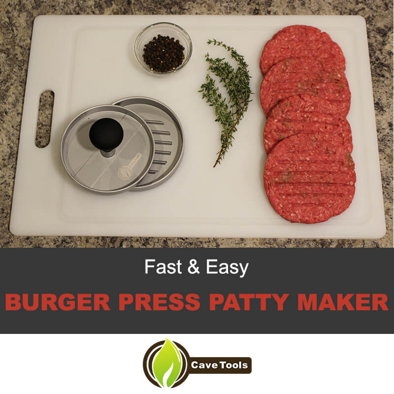 Burger press patty maker