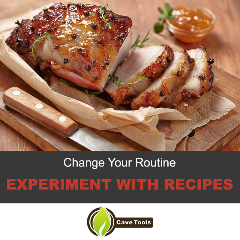 Experiment with pork recipe