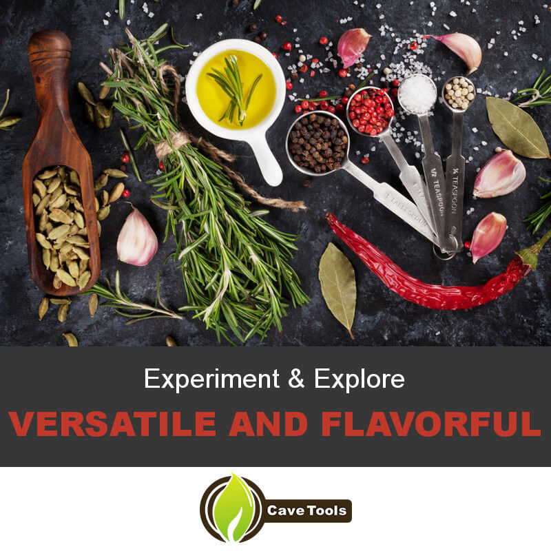Experiment & Explore Versatile and Flavorful