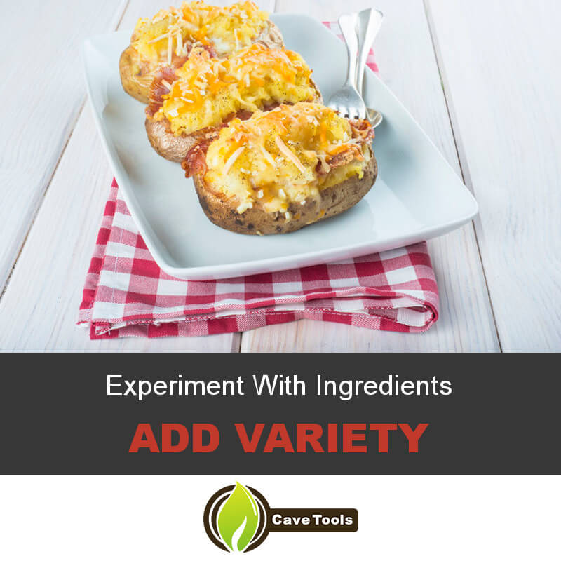 Experiment With Ingredients Add Variety