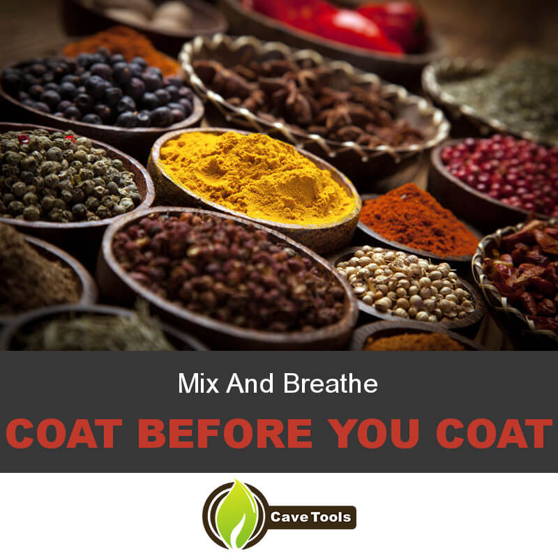 Mix And Breathe Coat before you coat