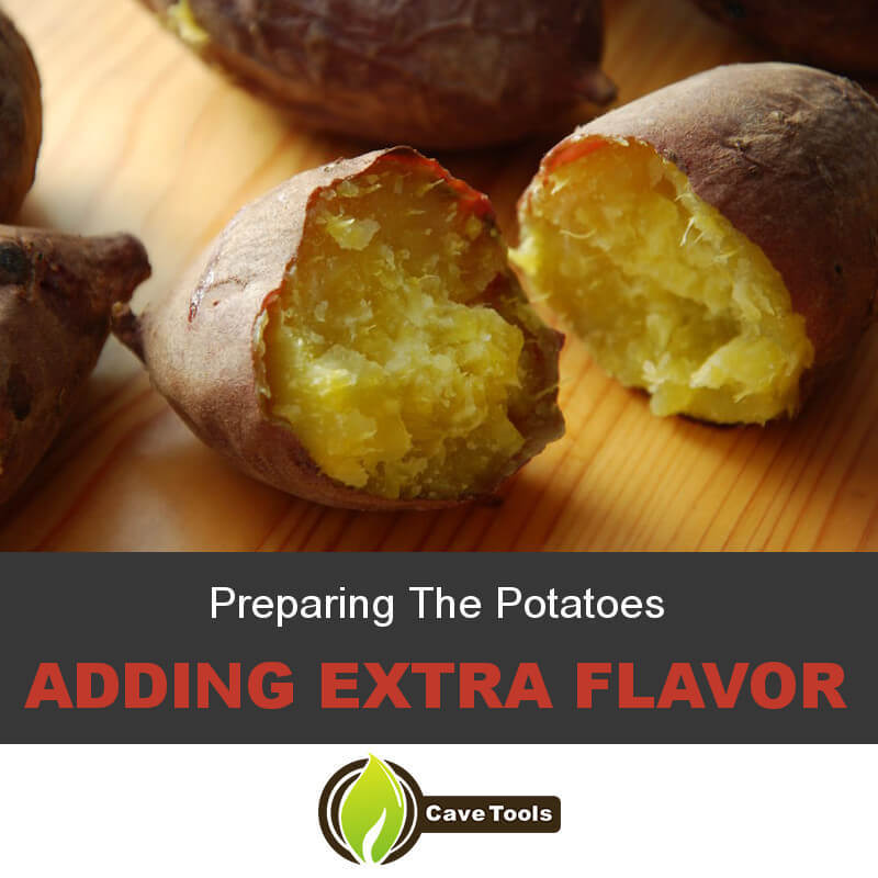 Preparing The Potatoes Adding Extra Flavor