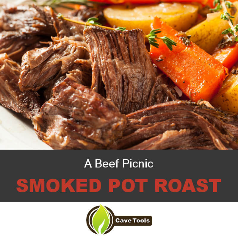 A Beef Picnic Smoked Pot Roast