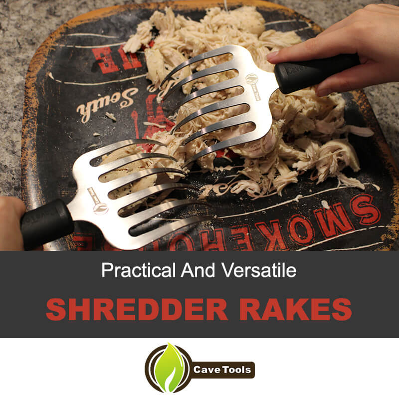 Shredder rakes