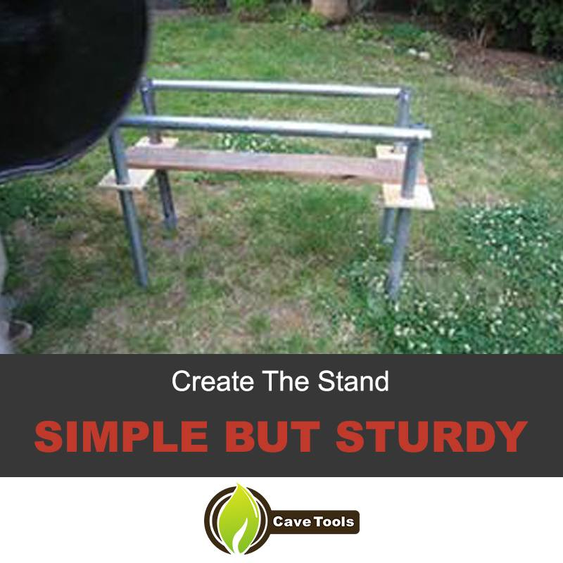 This is the stand I've decided to go for. It's simple but sturdy; great for weekend getaways as the wood doesn't have as much weight as it would if was ...