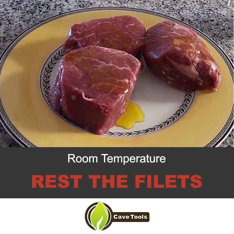 Room Temperature Rest The Filet Mignon