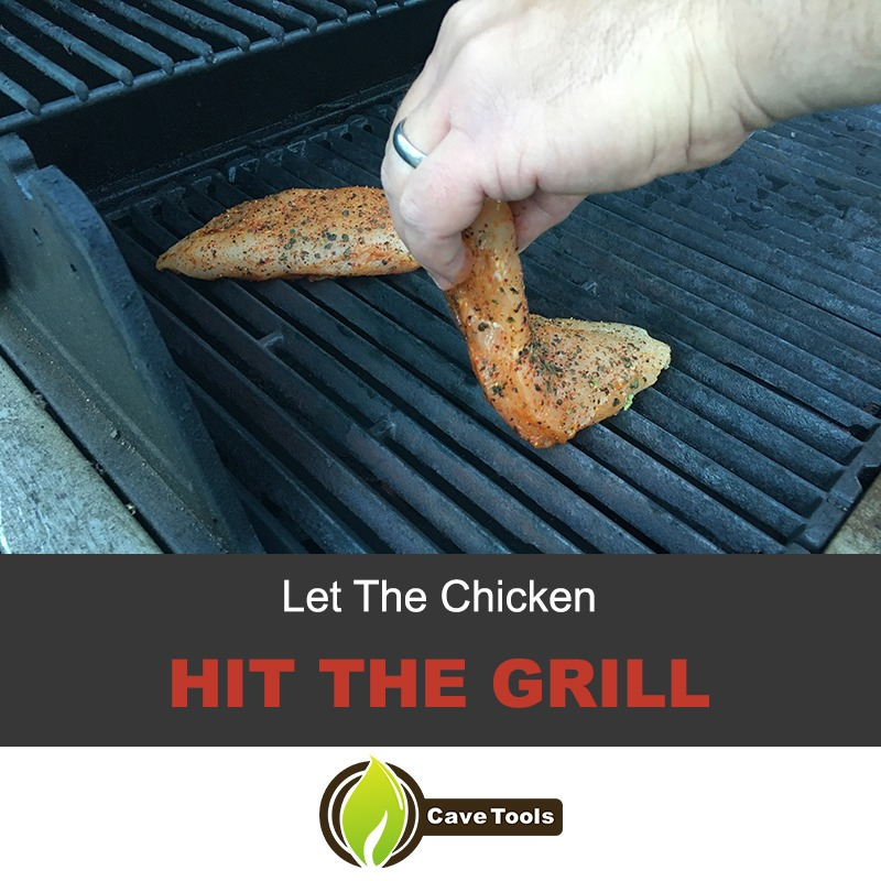 Let The Chicken Hit The Grill