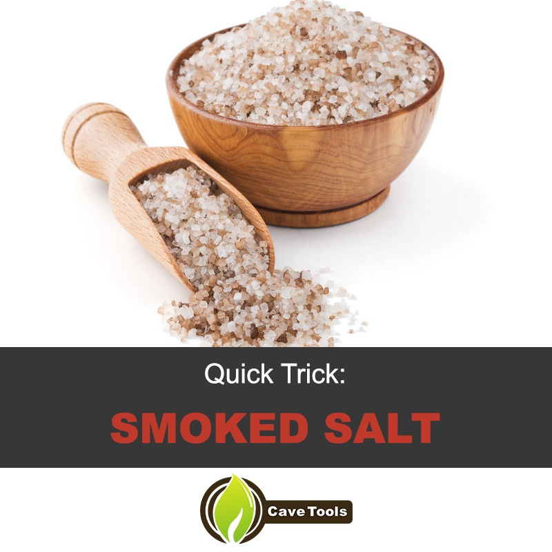quick trick: smoked salt