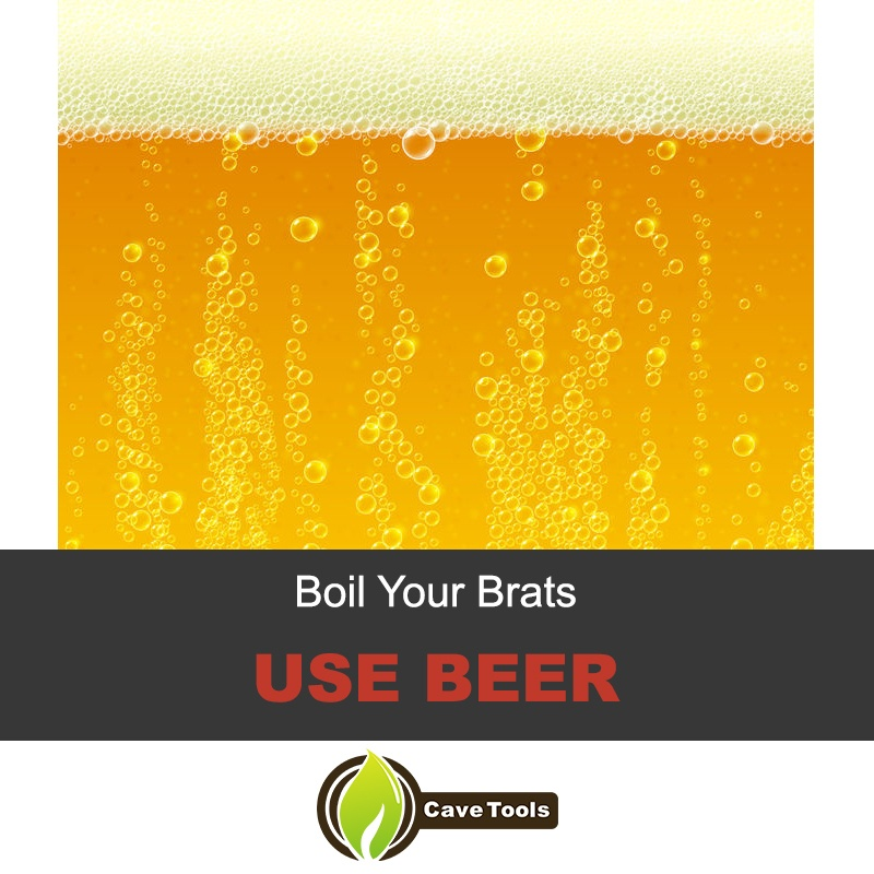 Boil Your Brats In Beer