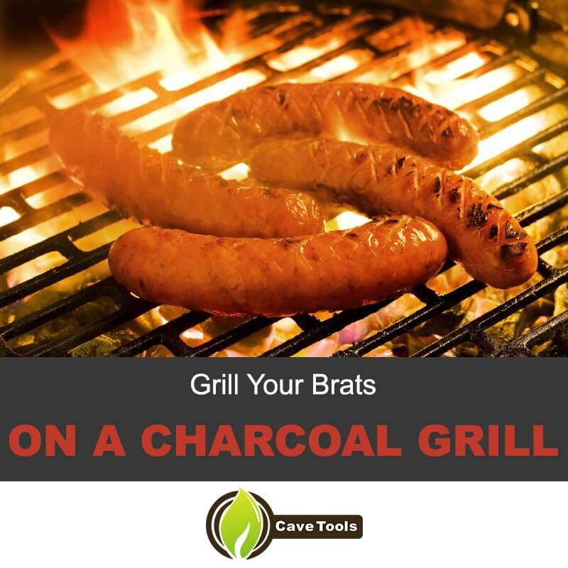 Grill Your Brats On A Charcoal Grill