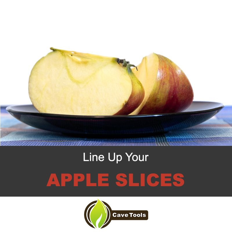 Line Up Your Apple Slices