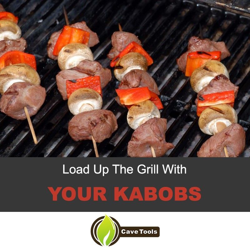 Load Up Your Grill With Kabobs