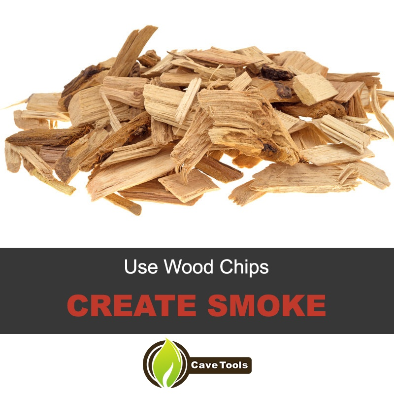 Use Wood Chips Create Smoke
