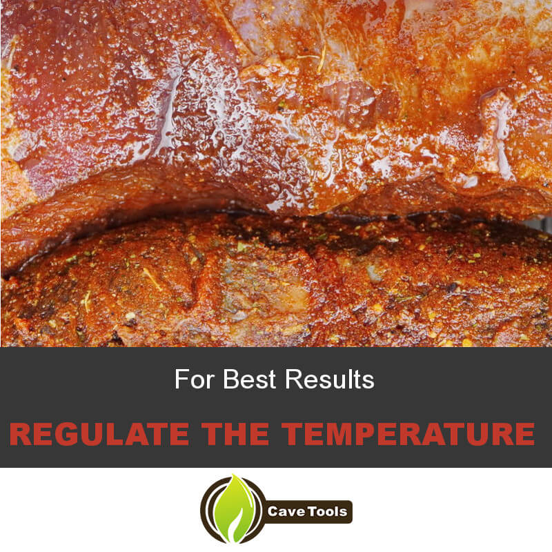 For Best Results Regulate The Temperature