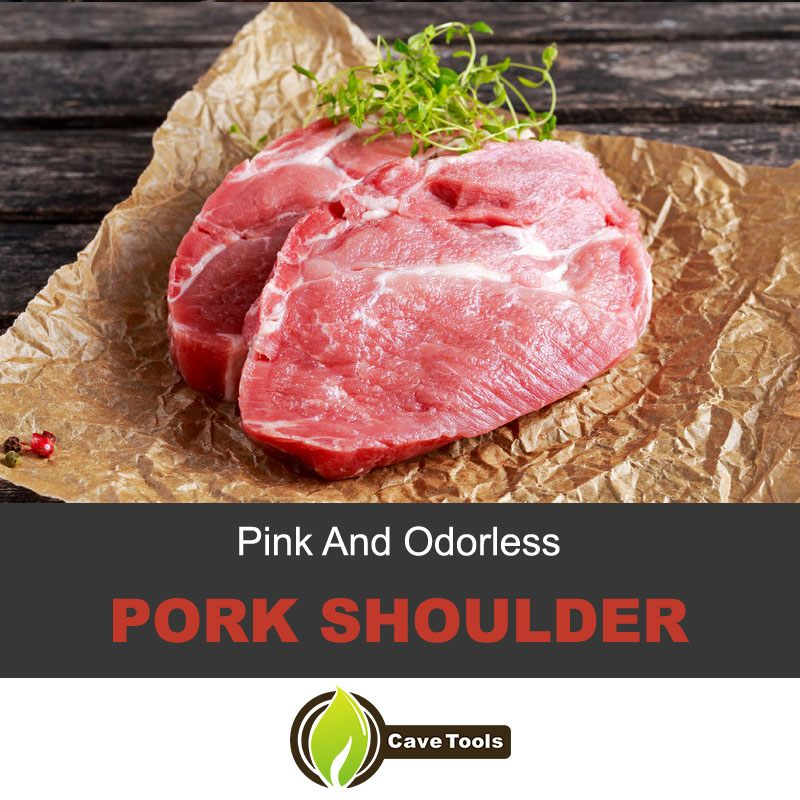 Pink And Odorless Pork Shoulder