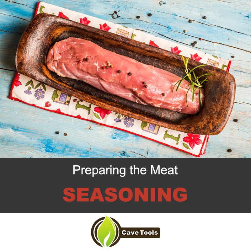 Preparing The Meat Seasoning