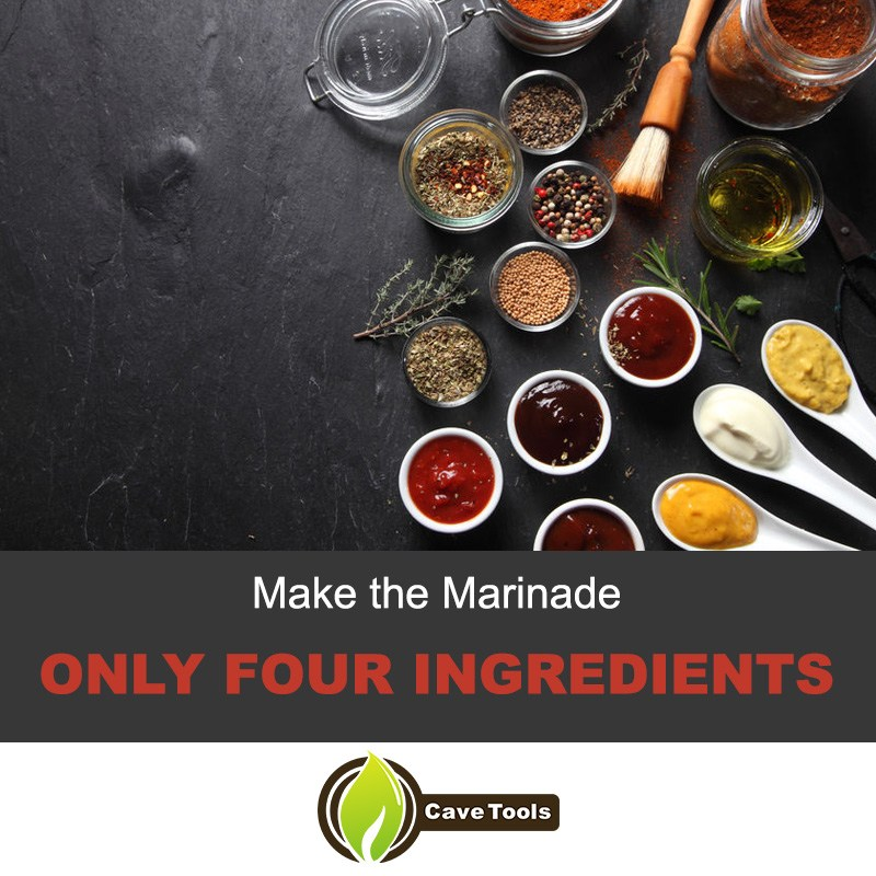 Make The Marinade Only Four Ingredients