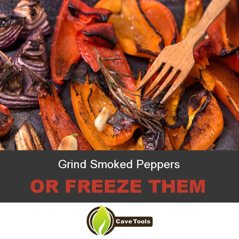 Grind Smoked Peppers Or Freeze Them