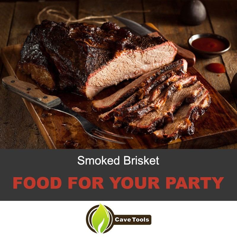 Smoked Brisket Food For Your Party