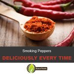 Smoking Peppers Deliciously every time